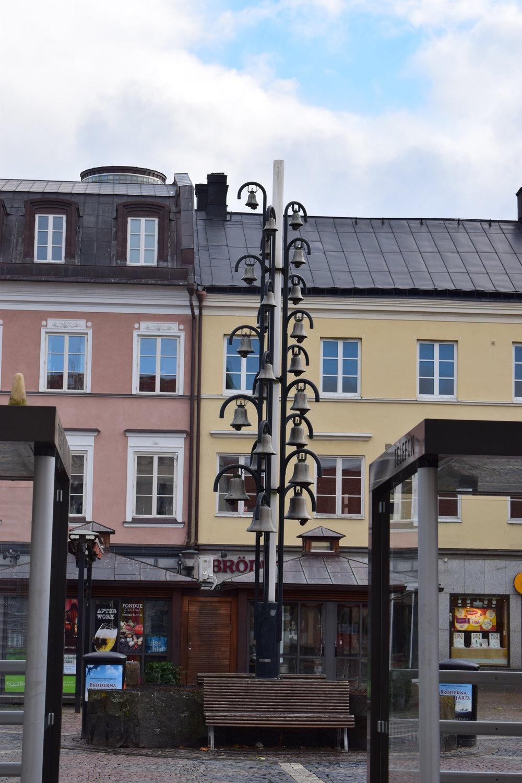 Kristianstad - the city, bells/lamp