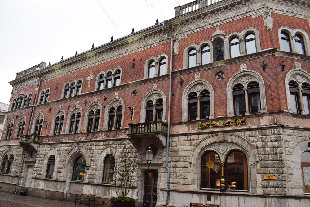 Ystad, urban architecture