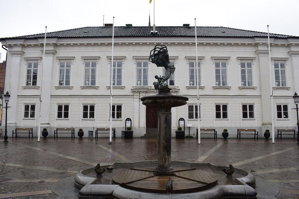 Ystad, the city hall