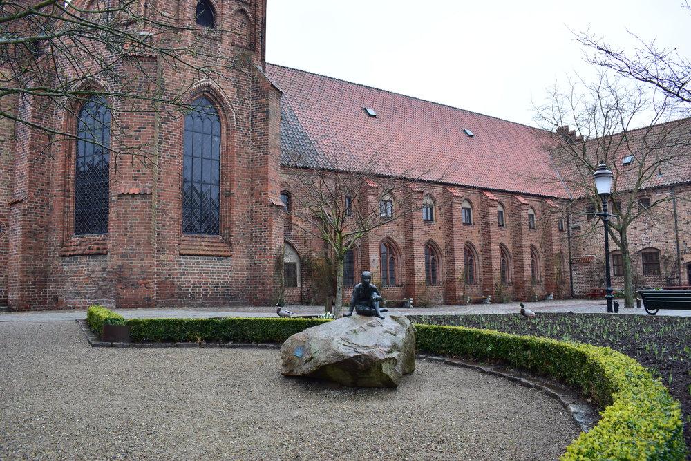 Ystad, the monastery