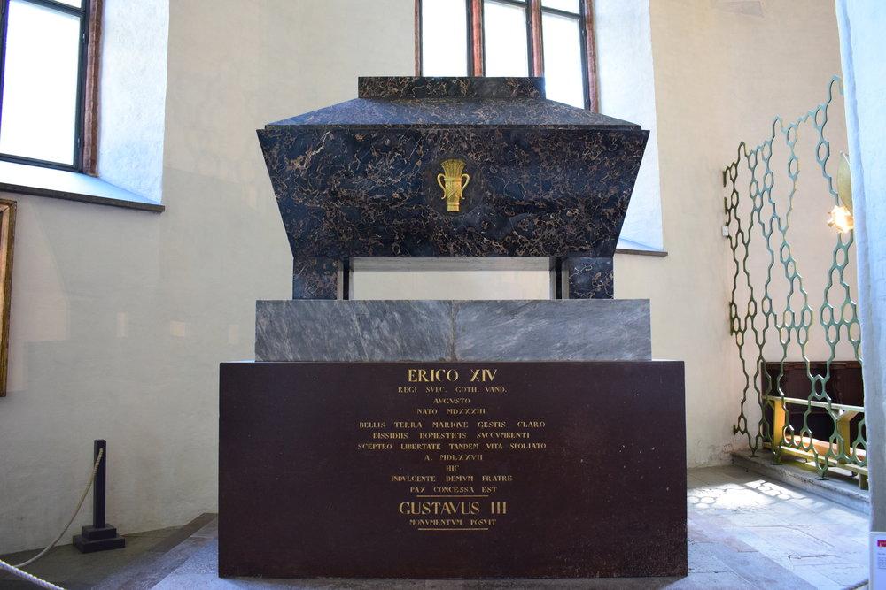 sarcophagus of Erik XIV