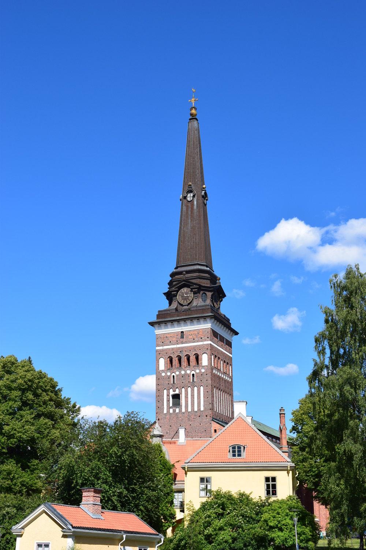 Nicodemus Tessin the Younger, baroque spire, 1695
