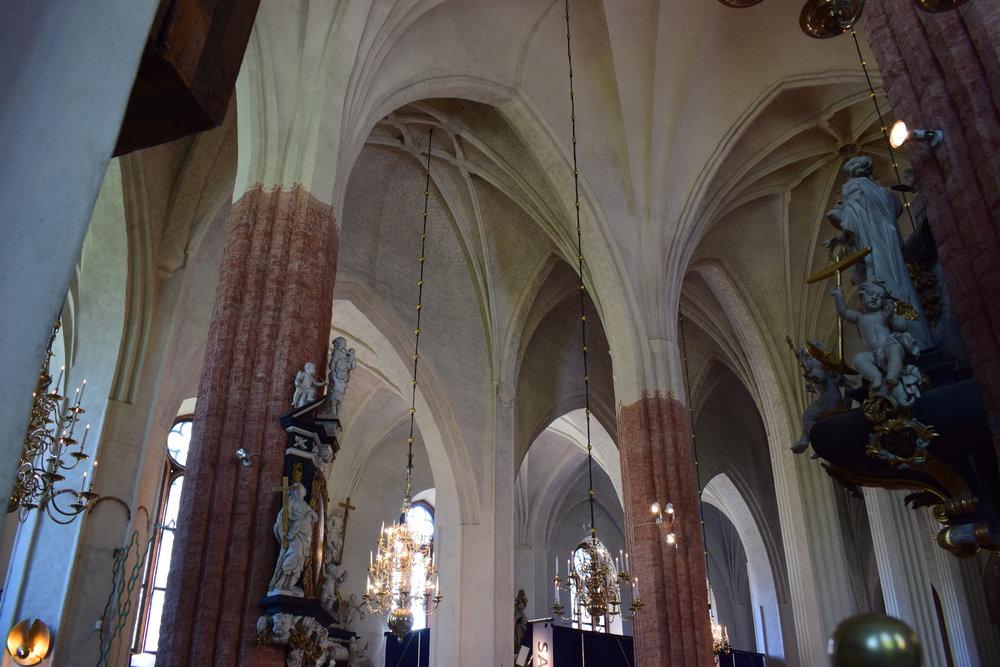 Västerås cathedral, interior