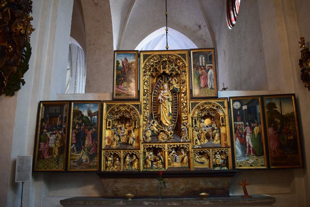 Virgin Mary chapel, Västerås