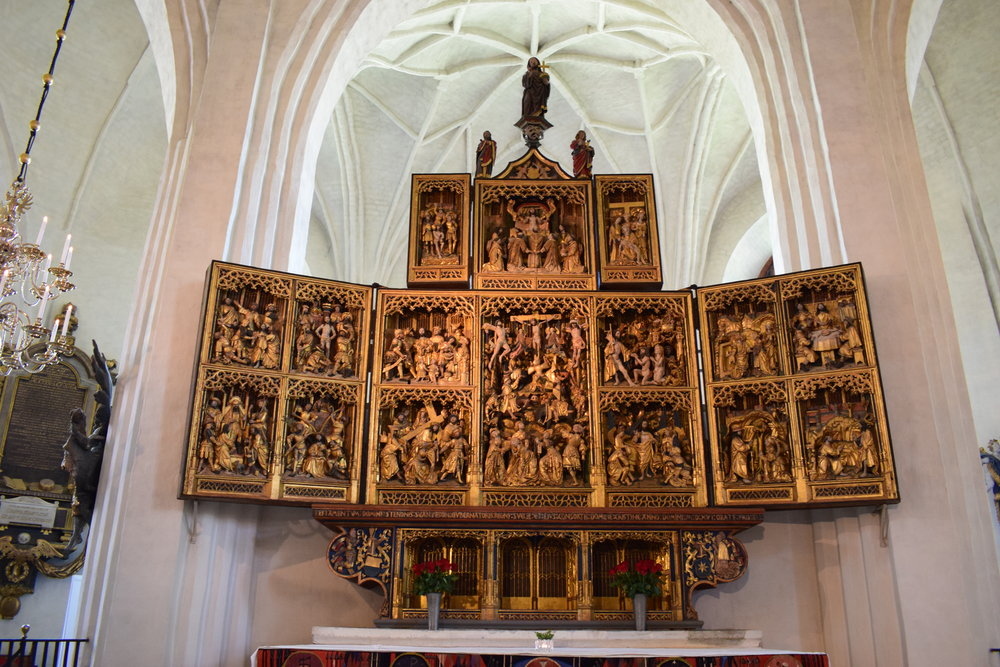 High altar, Västerås
