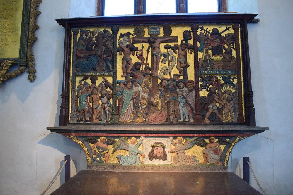 Saint Veronica altar, Västerås