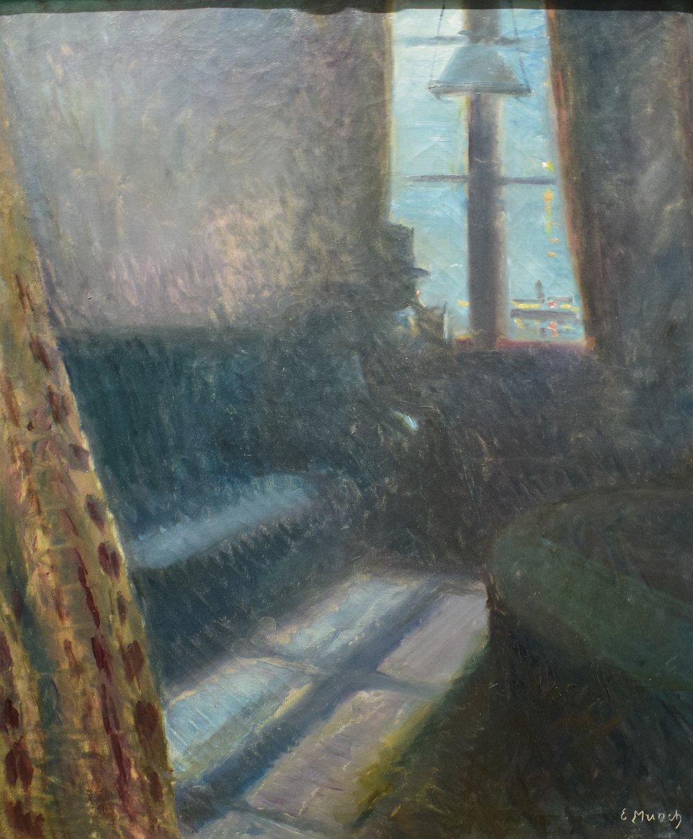 Edvard Munch, Nigh in Saint-Cloud, 1890, Nasjonalmuseet