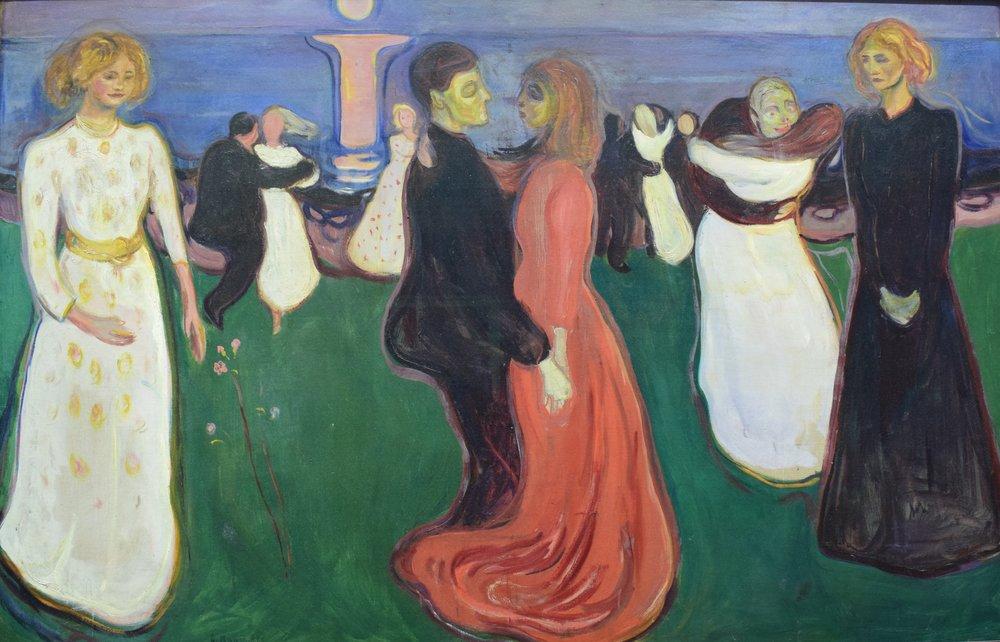 Edvard Munch, Dance of Life, 1899-1900, Nasjonalmuseet