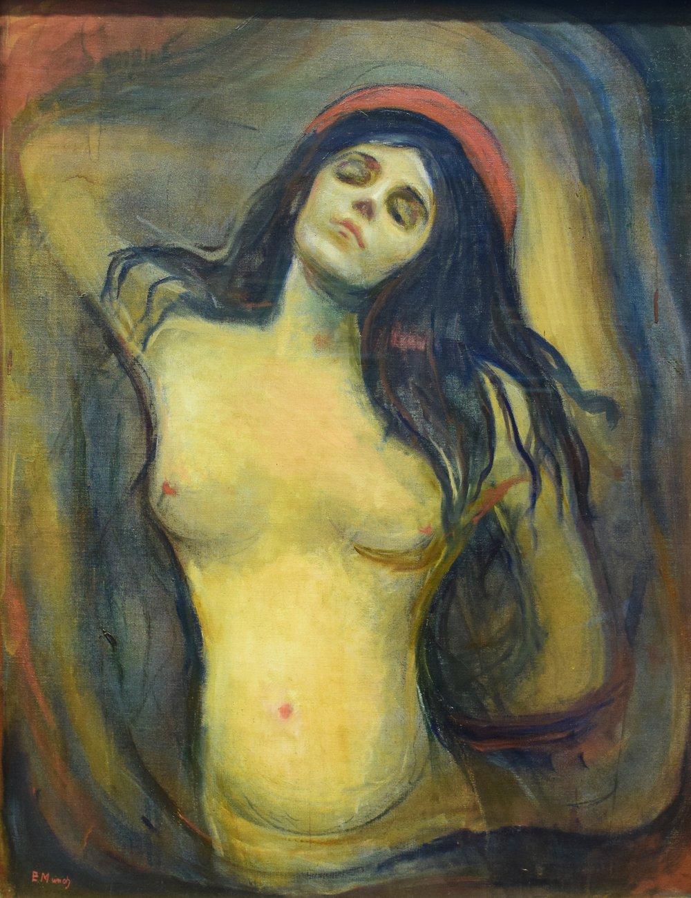 Edvard Munch, Madonna, 1894-95, Nasjonalmuseet