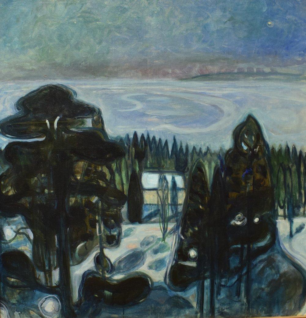 Edvard Munch, White Night, 1900-01, Nasjonalmuseet