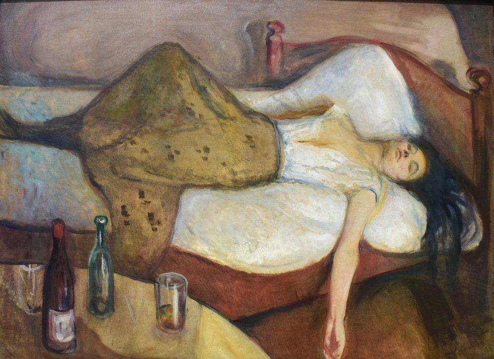 Edvard Munch, The Dat After, 1894, Nasjonalmuseet