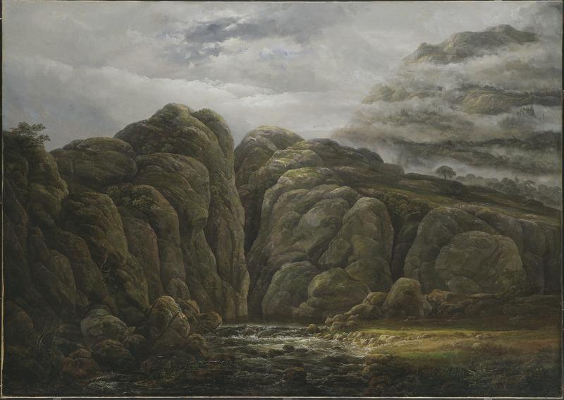 Johan Christian Dahl, Norwegian Mountain Landscape, 1819, Nationalmuseum