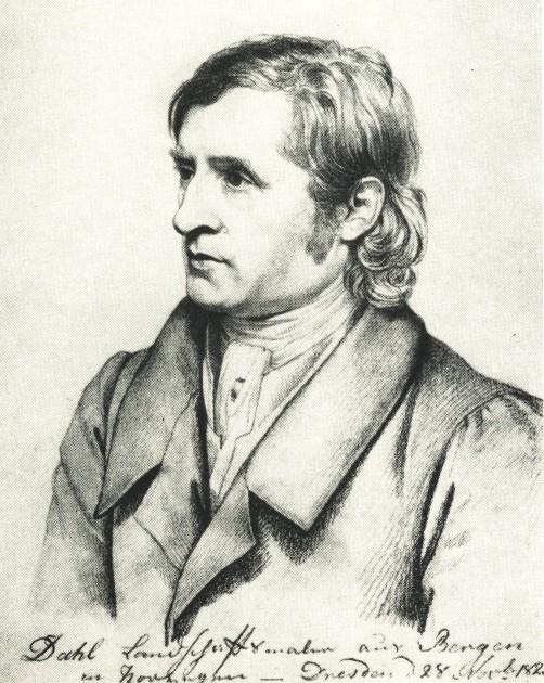 johan christian dahl1788-1857 -