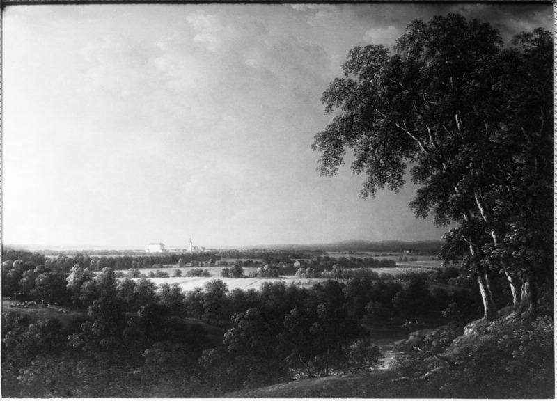 Carl Johan Fahlcrantz, View of Örebro, 1843, Nationalmuseum