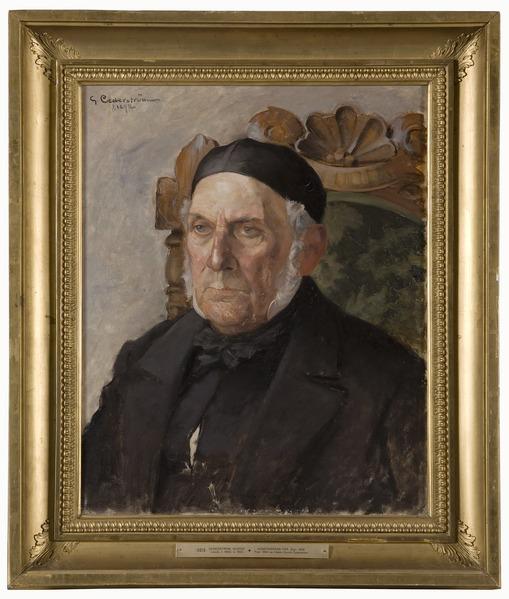 Gustaf Cederström, Karl Emanuel Cederström, 1892, Nationalmuseum