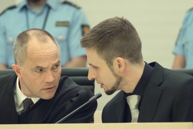 Geir Lippestad (Jon Øigarden) and Anders Breivik (Anders Danielsen Lie), source: https://www.radiotimes.com/news/on-demand/2018-09-25/22-july-netflix-movie-review/