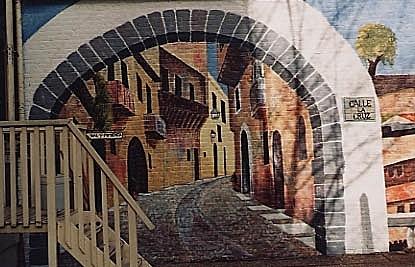 Spanish Street detail