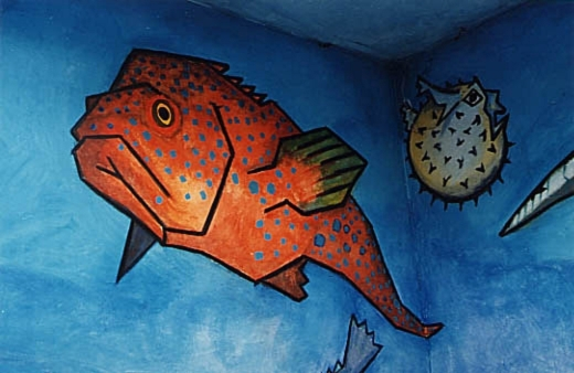 Red Sea Fish detail