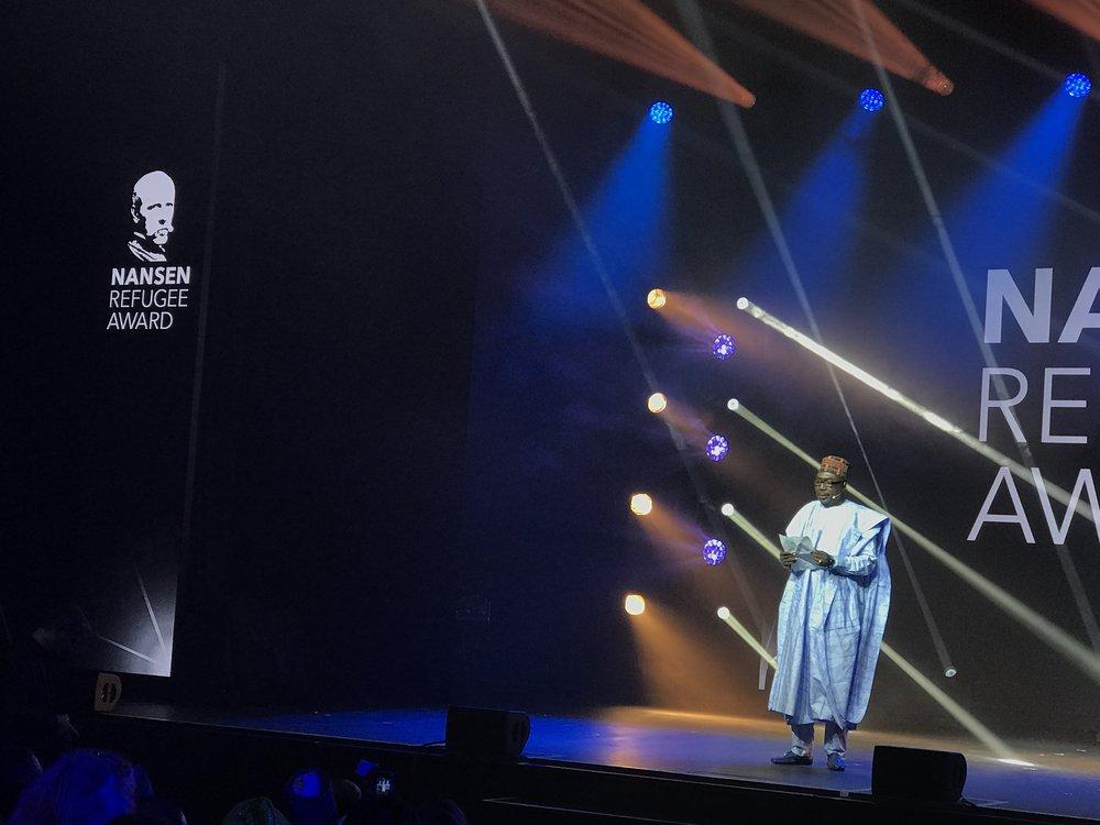 Zannah Mustapha, Vinnaren av Nansenpriset 2017