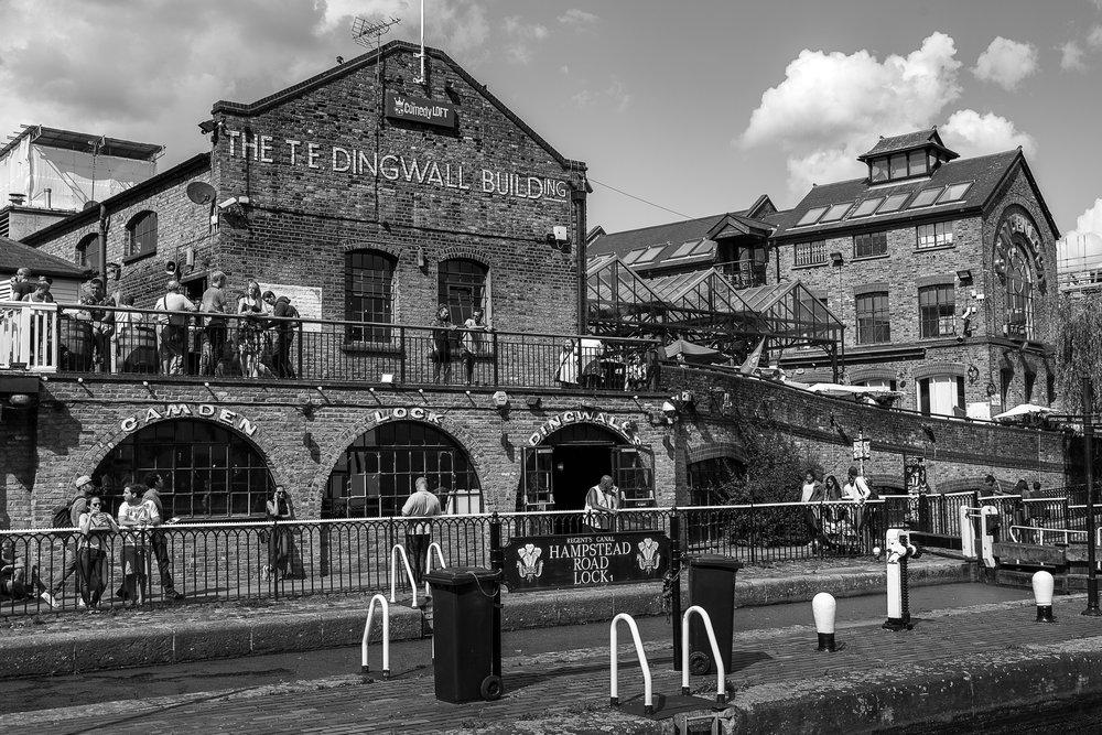 Camden Market, London England