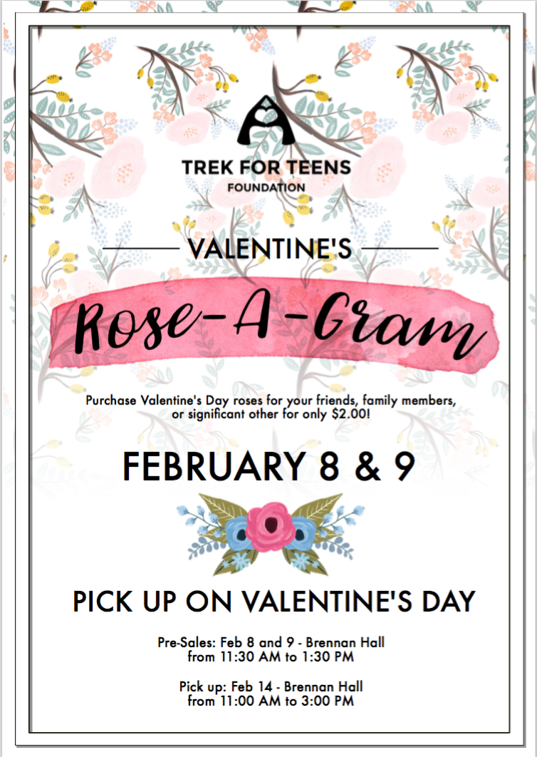 Trek for Teens Rose-a-Grams 2018 Poster.png