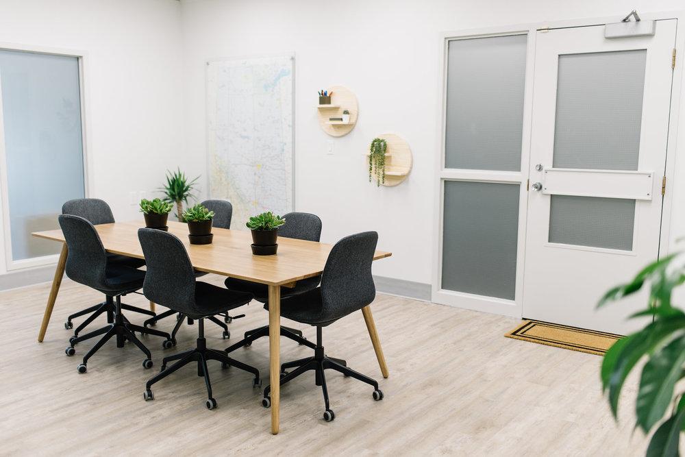 modern office renovation