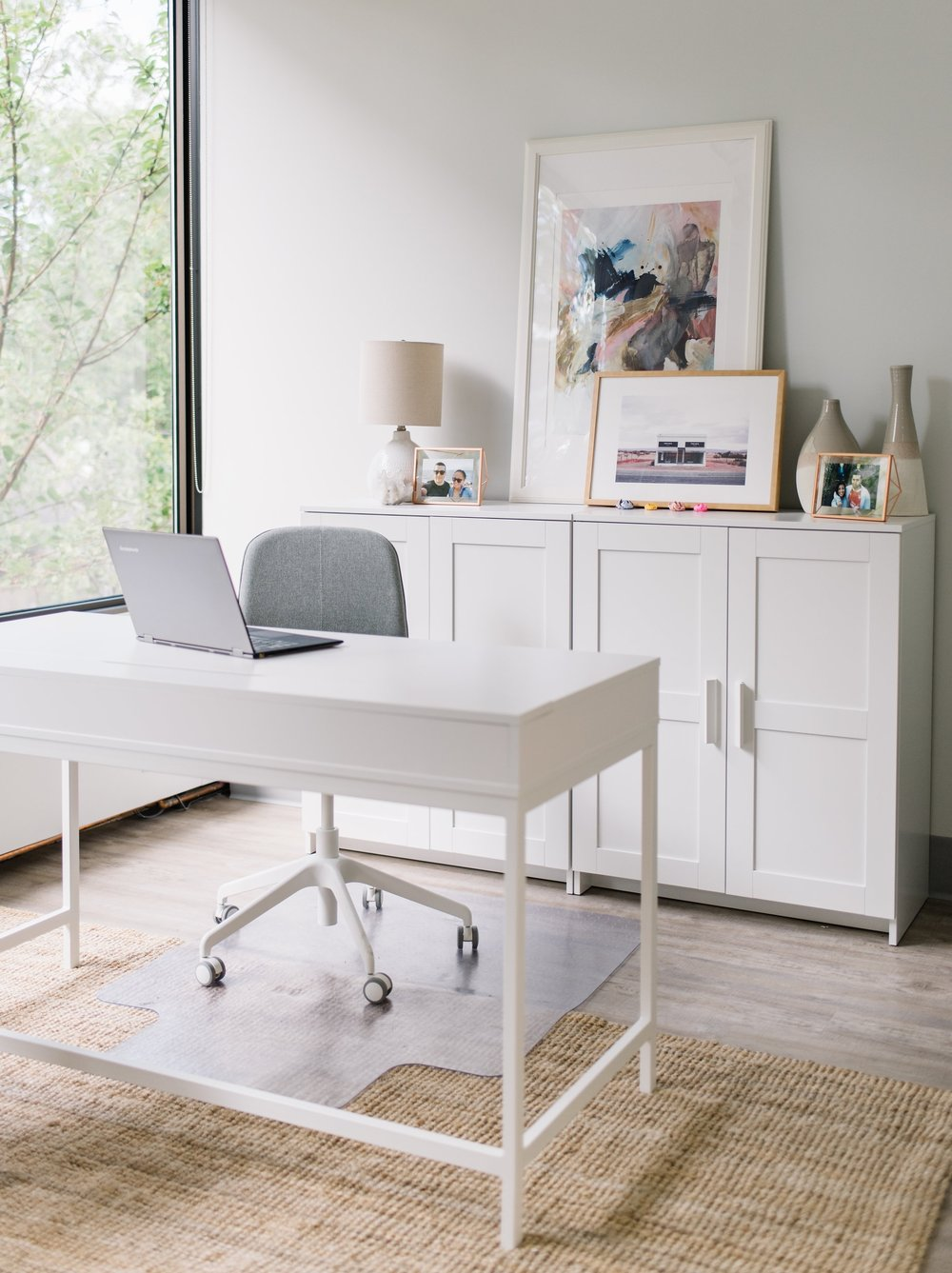 modern office renovation, bright and airy office