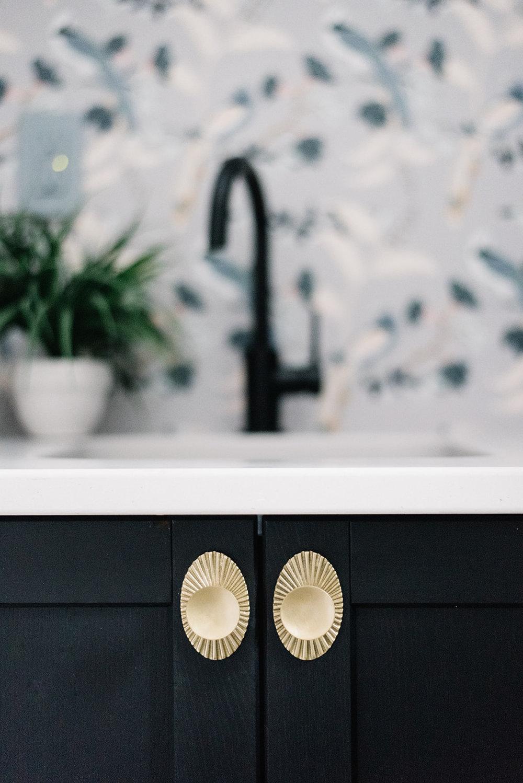 art deco cabinet pulls