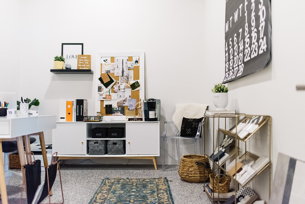 edmonton interior designer, small office space