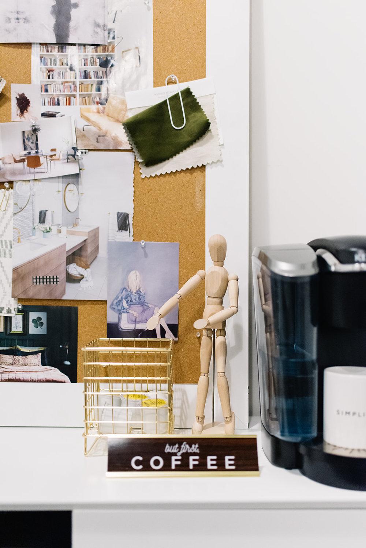 small modern office, edmonton interior designers