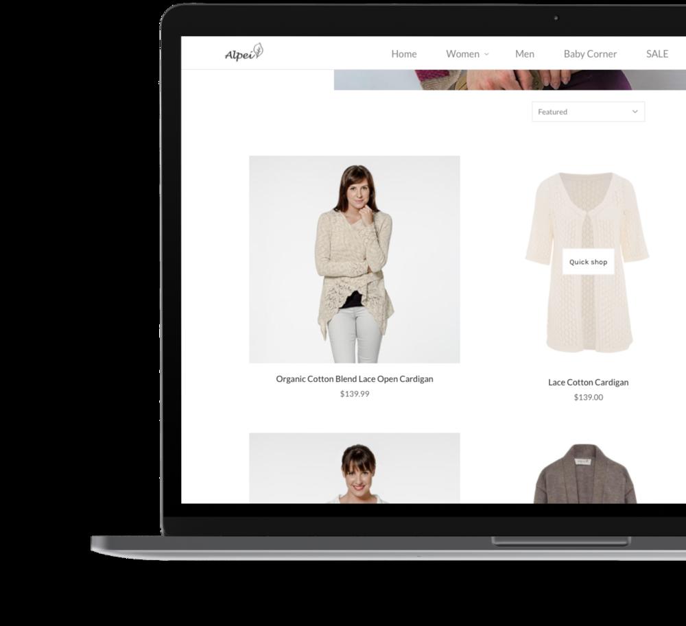Shopify Website Design - Enersys