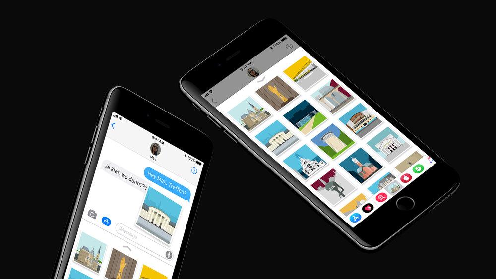 Formsaachen iOS Stickerapp Aachen