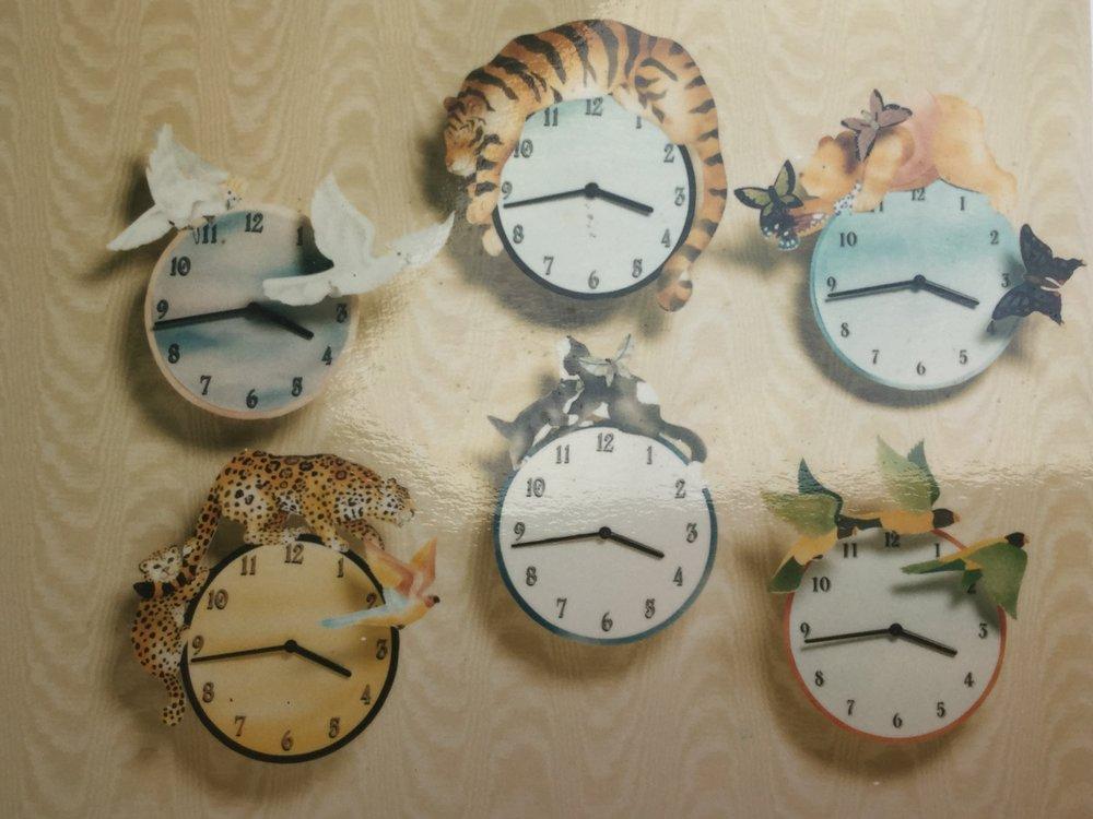 Monkeypuzzle Clock Designs