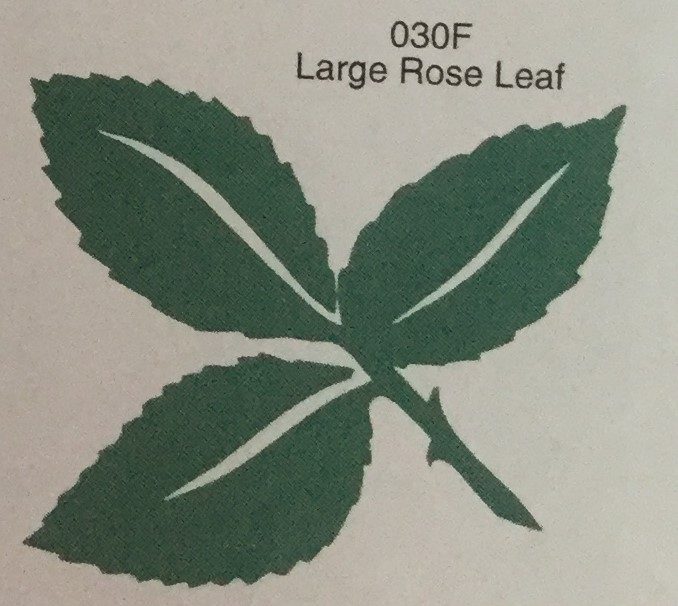 Large Rose Leaf