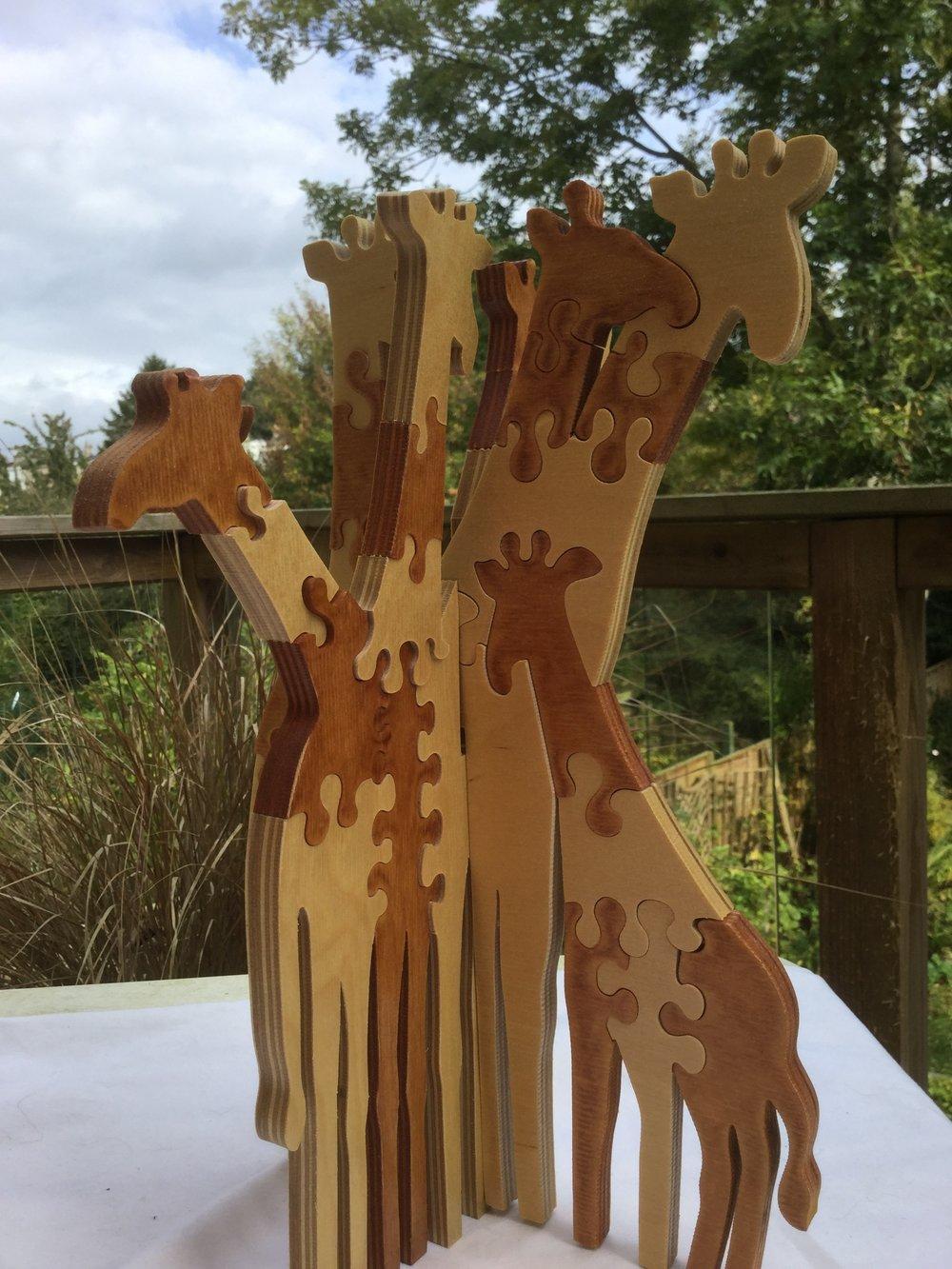 Giraffe Herd