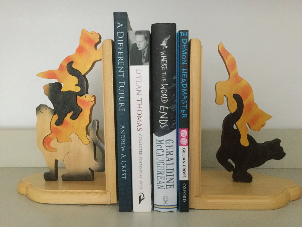 New Cat Bookend