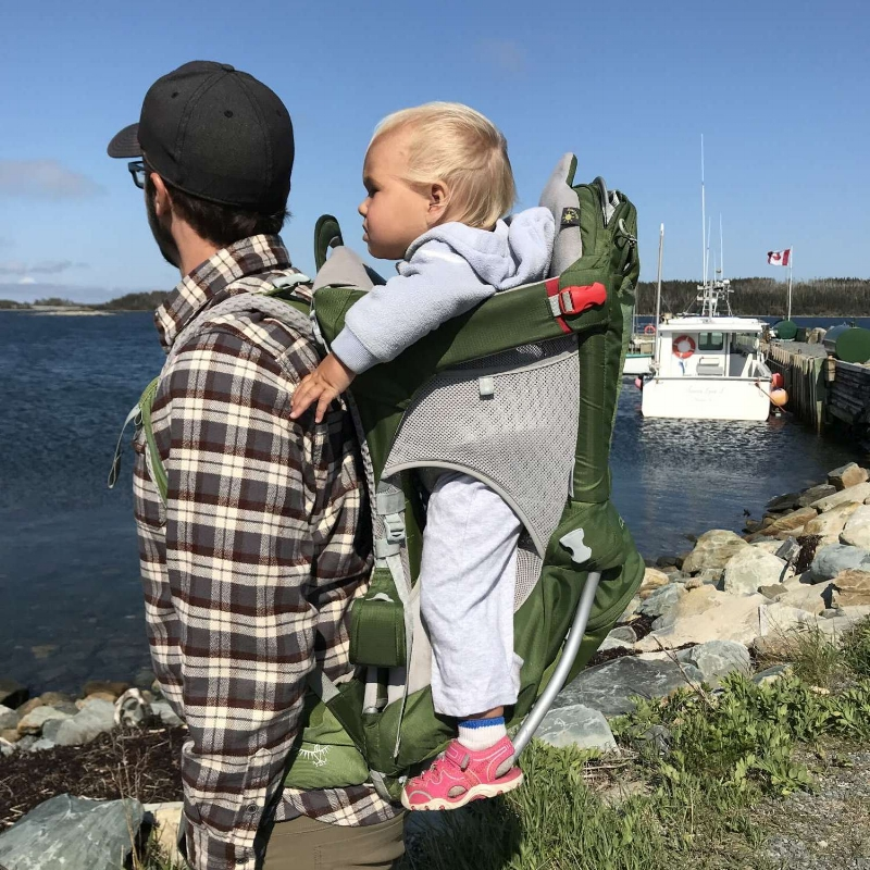 6ac48d23043 Review  Osprey Poco AG Child Carrier — Cabin Fever Bus