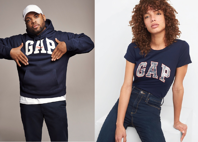 Brand consistency across all apparel divisions... - MENS, WOMENS, BOYS, GIRLS, BABY GAP