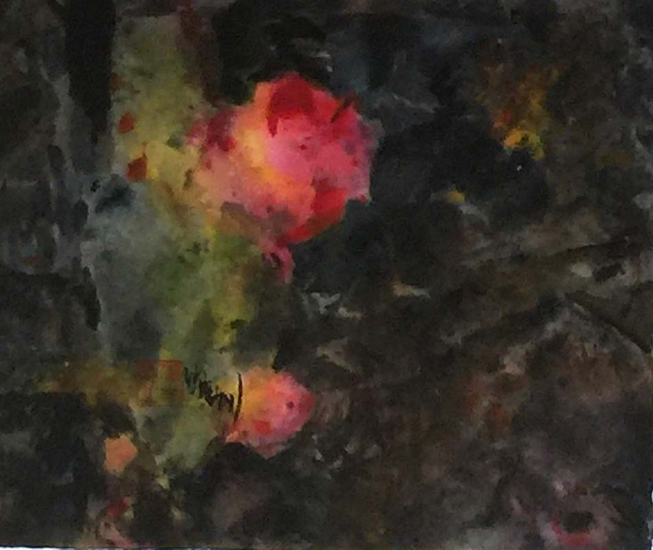 "Last Light - Sumi/ChineseWC - 9.75x11""im - $500"