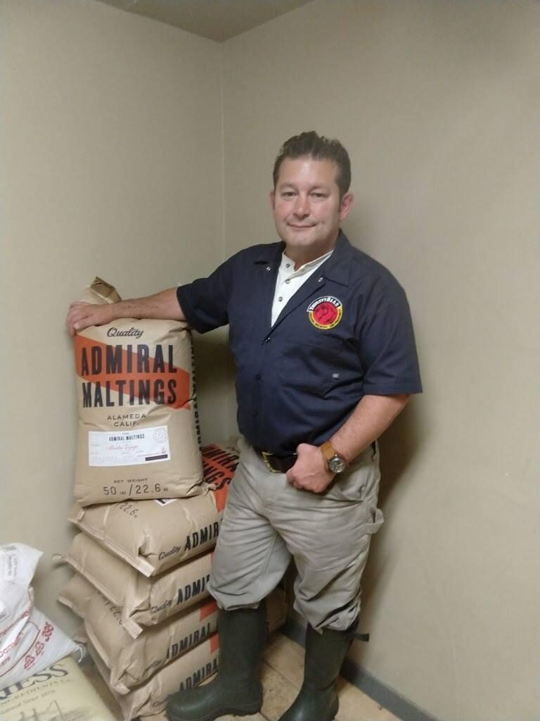 Brenden Dobel, head brewer, Thirsty Bear Brewing Co.