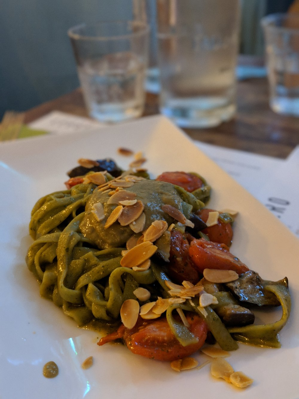 Vegan fresh pasta from Leggero