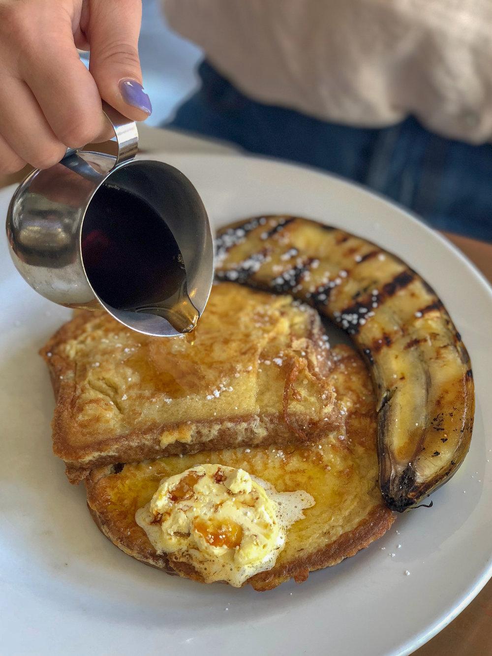 French toast at Barmuda