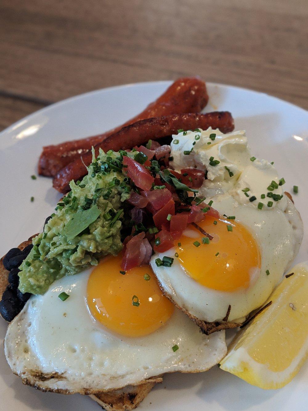 Huevos Rancherous from the Deus Café