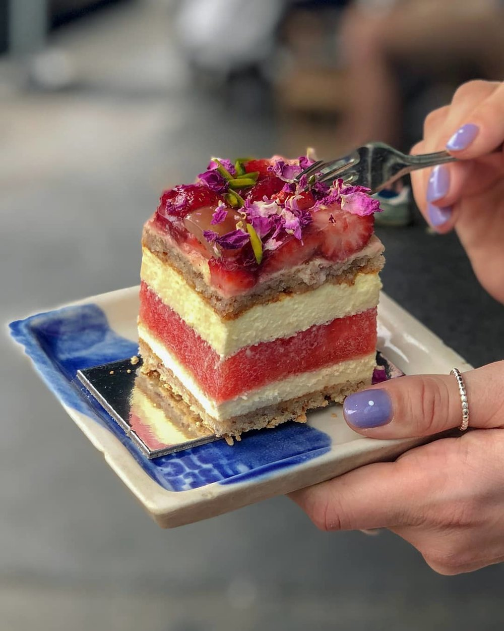 Watermelon cake from Black Star