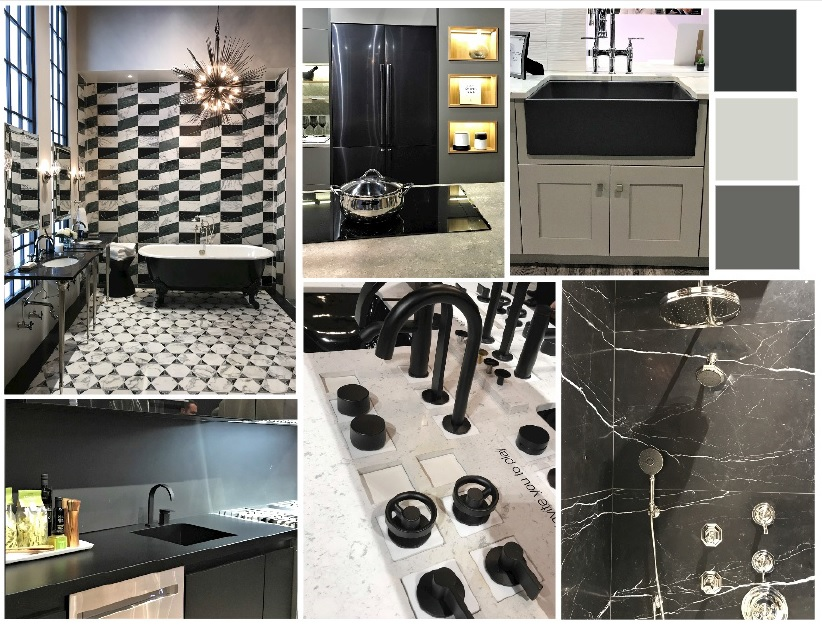 Collection of my favorite black beauties from KBIS.