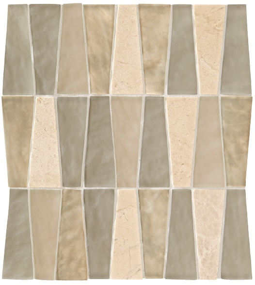 Our accent tile - to be used as the backsplash and the feature in the shampoo niche