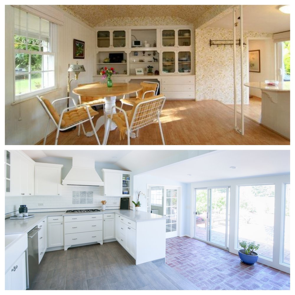 The Dining Room Became the Kitchen!
