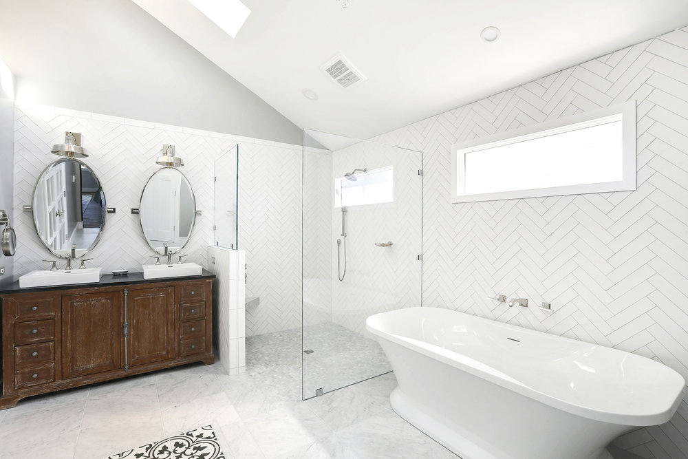 After - Master Bath