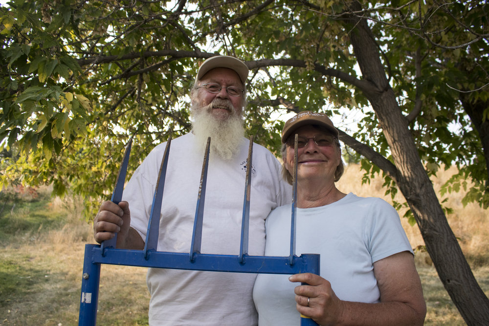 Rachel and Luc Bourgault: Local Producers