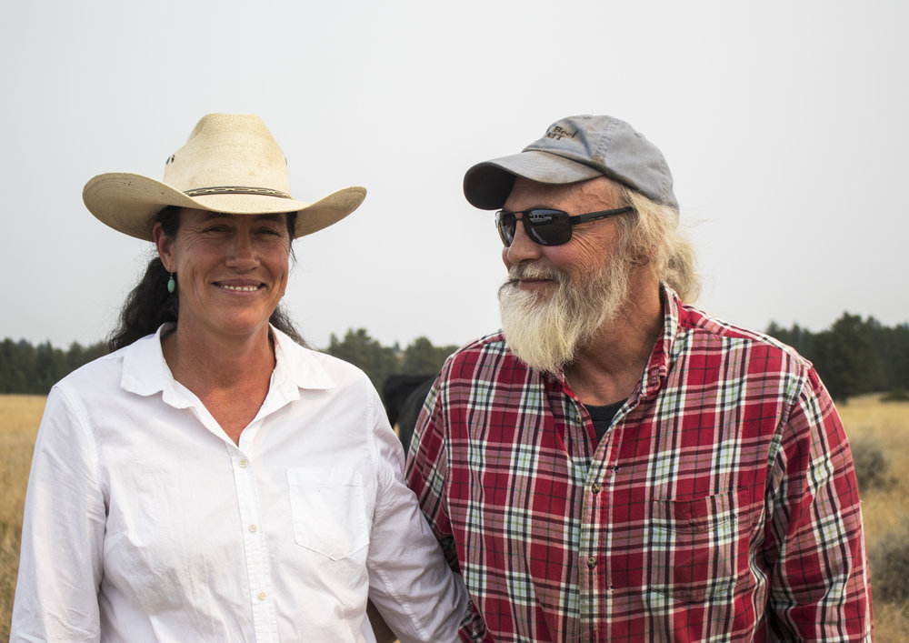 Jeanie Alderson and Terry Punt: Ranchers